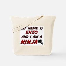my name is enzo and i am a ninja Tote Bag