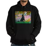 Flat Coated Retriever 2 Hoodie (dark)