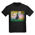 Flat Coated Retriever 2 Kids Dark T-Shirt
