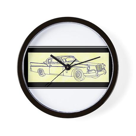 """1956 Packard Hawk?"" Wall Clock"