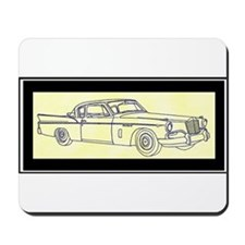 """1956 Packard Hawk?"" Mousepad"