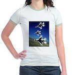 18 Inches Separation Jr. Ringer T-Shirt