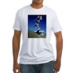 18 Inches Separation Fitted T-Shirt