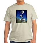 18 Inches Separation Ash Grey T-Shirt