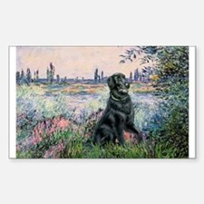 Flat Coated Retriever 2 Decal