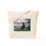 Flat Coated Retriever 2 Tote Bag