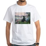 Flat Coated Retriever 2 White T-Shirt