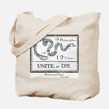 Unite, or Die Tote Bag