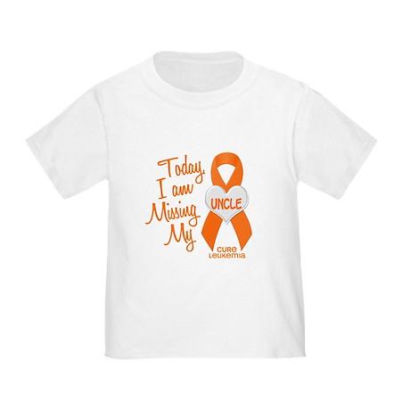 Missing My Uncle 1 LEUKEMIA Toddler T-Shirt