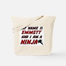 my name is emmett and i am a ninja Tote Bag
