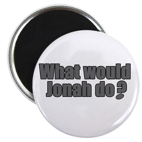 Would Jonah Do Rugby Humor Magnet