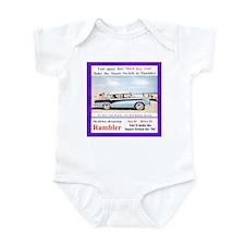 """1956 Rambler Ad"" Infant Bodysuit"