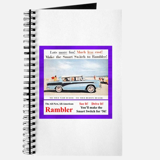 """1956 Rambler Ad"" Journal"