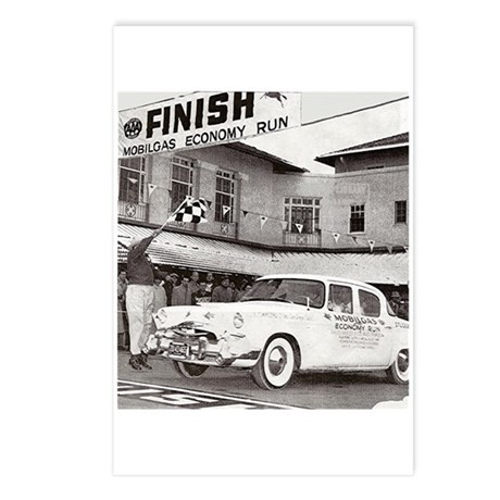 """""""Mobilgas Finish"""" Postcards (Package of 8)"""