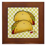 Tacos Framed Tile
