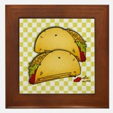 Tacos Framed Tile
