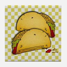 Tacos Tile Coaster