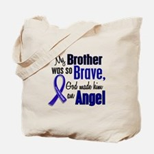 Angel 1 BROTHER Colon Cancer Tote Bag