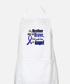 Angel 1 BROTHER Colon Cancer BBQ Apron