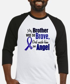Angel 1 BROTHER Colon Cancer Baseball Jersey