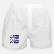 Angel 1 BROTHER Colon Cancer Boxer Shorts