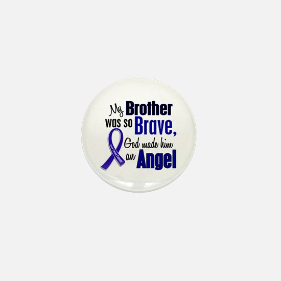 Angel 1 BROTHER Colon Cancer Mini Button (10 pack)
