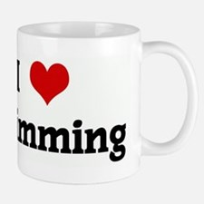 I Love Swimming Mug