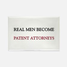 Real Men Become Patent Attorneys Rectangle Magnet