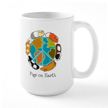 Pigs On Earth Large Mug Mugs