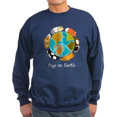 Pigs on Earth Sweatshirt (dark)
