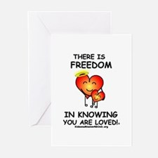 Freedom in Knowing Greeting Cards (Pk of 20)