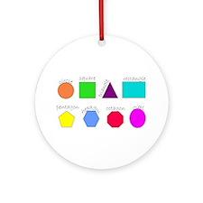 geometrics Ornament (Round)