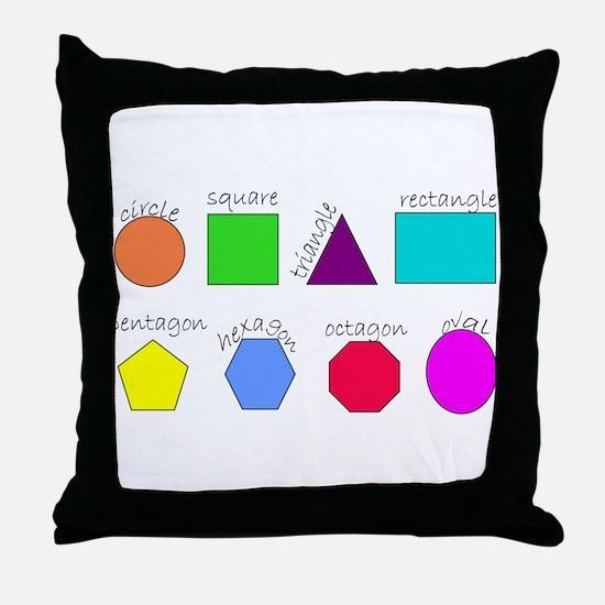 geometrics Throw Pillow