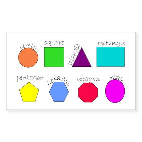 geometrics Rectangle Sticker