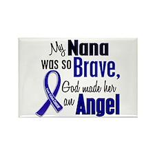 Angel 1 NANA Colon Cancer Rectangle Magnet
