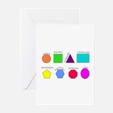 geometrics Greeting Cards (Pk of 10)