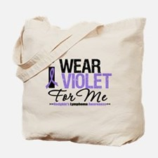 I Wear Violet For Me Tote Bag