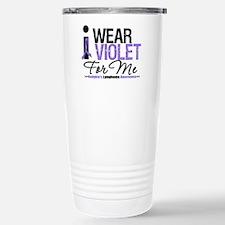 I Wear Violet For Me Travel Mug