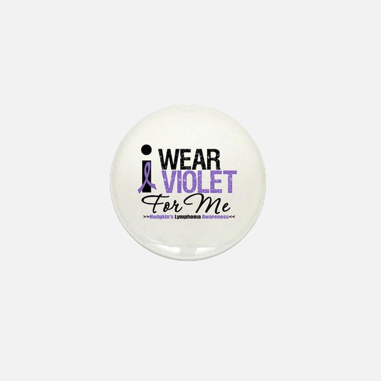 I Wear Violet For Me Mini Button