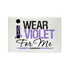 I Wear Violet For Me Rectangle Magnet