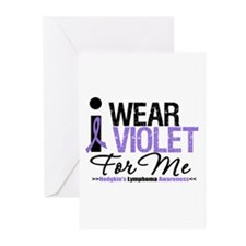 I Wear Violet For Me Greeting Cards (Pk of 10)