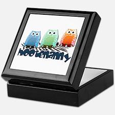 Hootenanny Keepsake Box