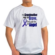 Angel 1 GRANDMOTHER Colon Cancer T-Shirt