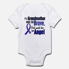 Angel 1 GRANDMOTHER Colon Cancer Infant Bodysuit