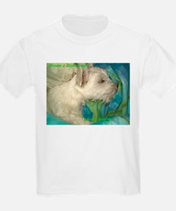 "Credible Critters-Westie pup ""Dream..."" Kids T"