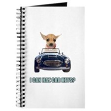 Chihuahua Driving Car Journal