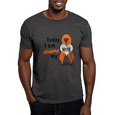 Missing My Wife 1 LEUKEMIA T-Shirt