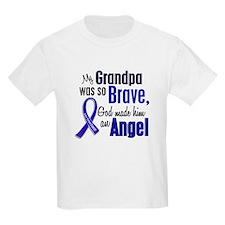 Angel 1 GRANDPA Colon Cancer T-Shirt