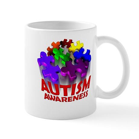 Autism Puzzle Jump Mug