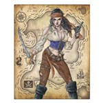 Pirate Girl 2 16x20 Poster